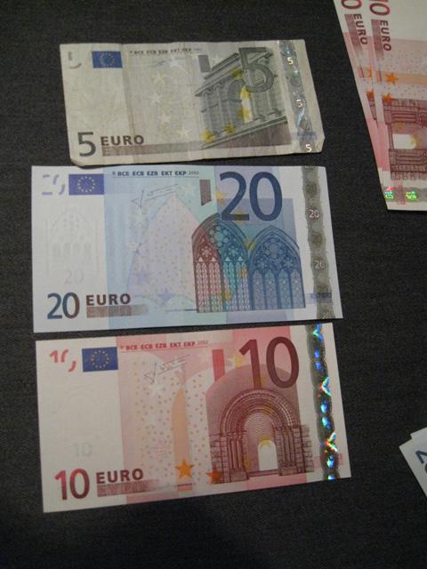ベルギー紙幣