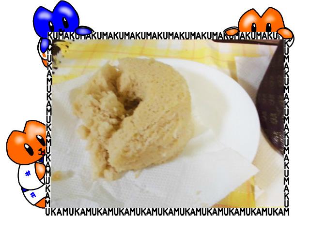 作ったシフォンケーキ