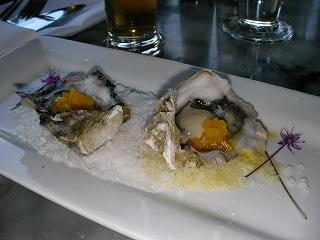 ビクトリアの生牡蠣
