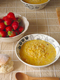レンズ豆のクリームスープ♪
