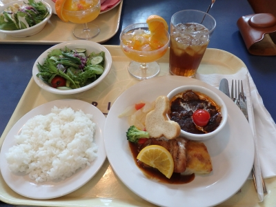 ホライズンベイレストランで食べたお昼〜ボリュームがスゴい・・・