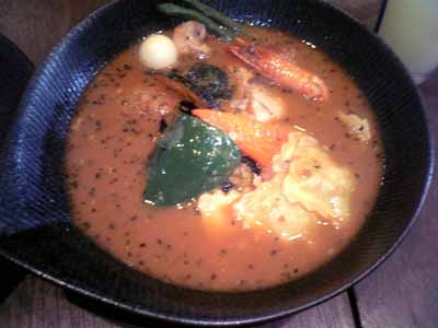 lavi MARUYAMA チキンto野菜 エビスープ