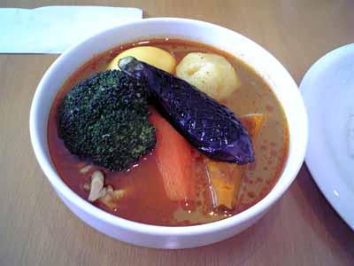 小樽アジャンタ 野菜(かしみーるスープ)