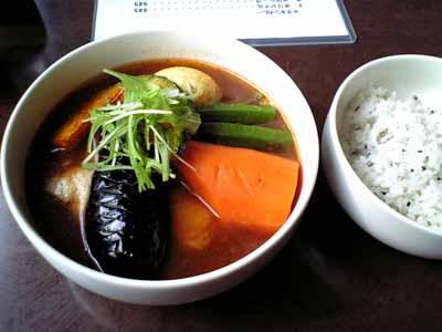 一灯庵 チキンカレー オリジナルスープ