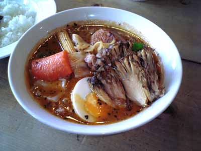 心 ラム肉+舞茸