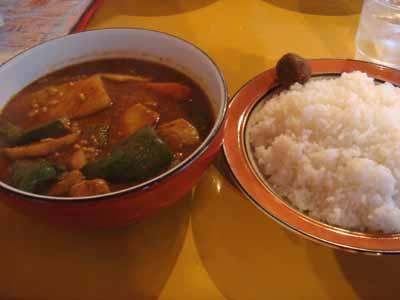 デストロイヤー 豚角煮+納豆とごはん