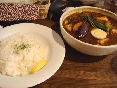 ガラムマサオ マニアスープ とろとろ豚角煮のスープカレー
