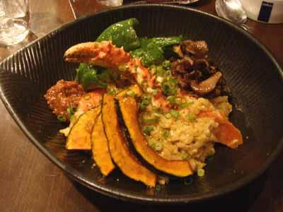 lavi HIRAGISHI カレーおじや+カニスープ、野菜