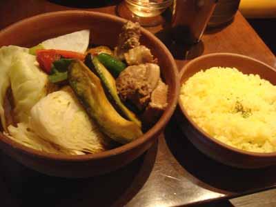 VOYAGE 鹿児島産黒豚の角煮とごはん