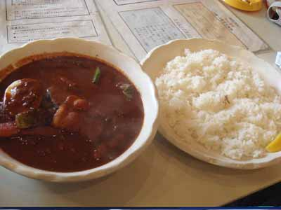 PEPP! 納豆・ひき肉・オクラのスープカレーとごはん