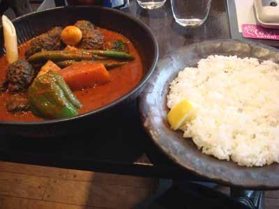 lavi KOTONI 角煮to野菜+ブロッコリーとごはん