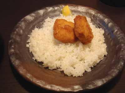 lavi CHITOSE エビカツとごはん。