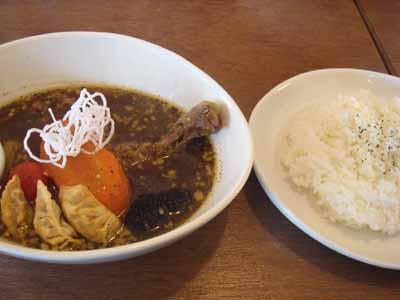 Verodeca いつものスープ ジューシーやわ鶏+揚げ餃子トッピングとごはん