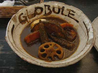 GLOBULE 鶏野菜 自家製餃子トッピング 辛さ1