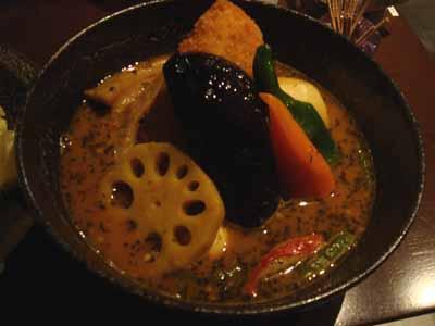 yellow 豚角煮カリー 辛さ5番(トロンパス) フィッシュフライトッピング