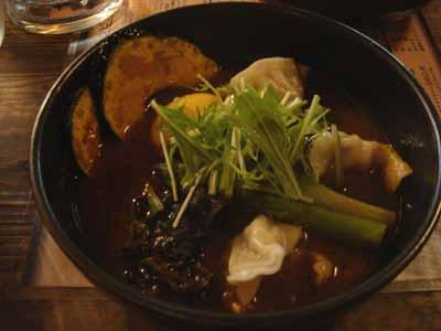 奥芝商店 十勝餃子 エビスープ きくらげトッピング