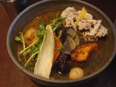 VOYAGE 喜茂別産 豚のしゃぶしゃぶ 続・新曼陀羅スープ