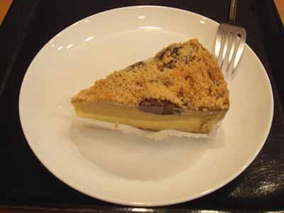 スターバックスコーヒー 栗のクランブルケーキ