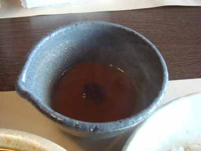 SAVoy 牛スネ肉のカリーの器に入りきらなかった分のスープ