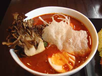 Curry Mind マインドスープ 辛さ30番 知床鶏チキンカツ 舞茸トッピング
