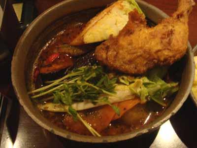 VOYAGE 新・曼陀羅スープ キャベタンと私 サクッとスパイスチキン、MIXシュレッドチーズトッピング 辛さ圏外