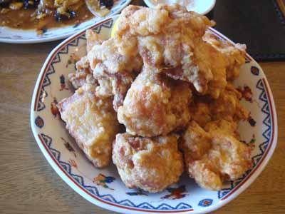 玉林酒家 炸鶏塊(鶏から揚げザンギ風)