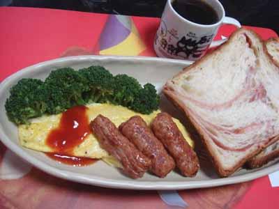 おうちごはん。朝ごはんセットw