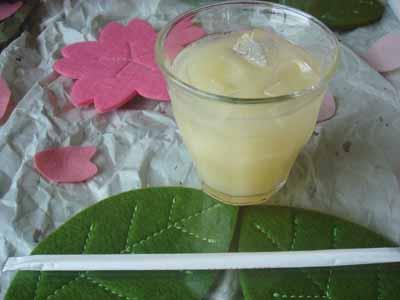 caf'e SAKURA グレープフルーツジュース