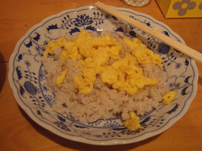 とら 十穀米+スクランブルエッグ