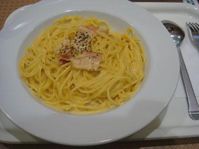 カジュアルキッチンプラスカフェ カルボナーラ