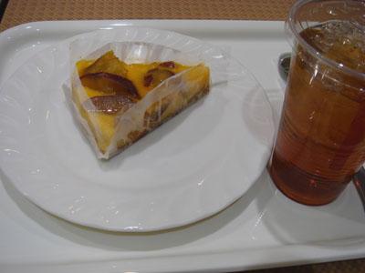 カジュアルキッチンプラスカフェ さつま芋のクラフティ