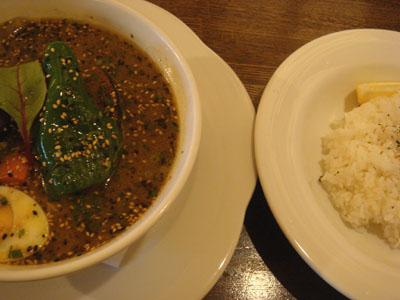 ガラムマサオ やわらか骨付きチキンベジタブルスープカレー イエロースープ