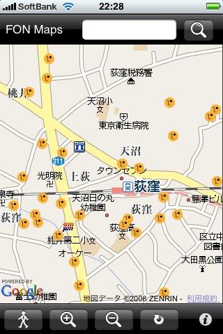FON Maps