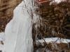 排水も凍る