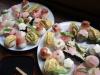 彩りてまり寿司