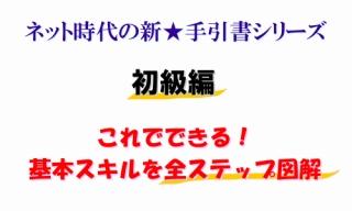 ネット時代の新★手引書シリーズ 初級編