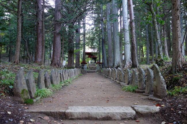 山形村の清水寺