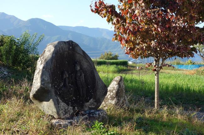 山形村の道祖神