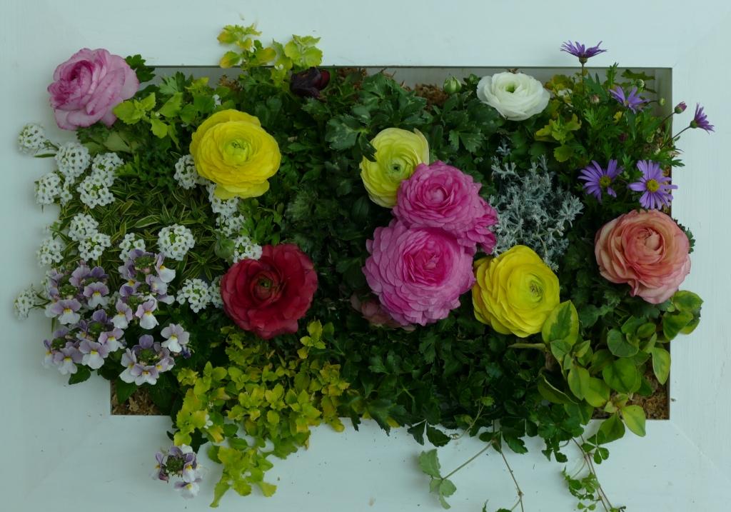 花のキャンバス