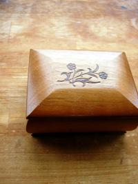スイスの木箱