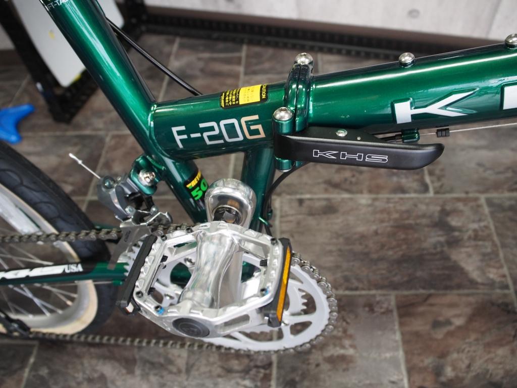 KHS F20G、ちいさな自転車家