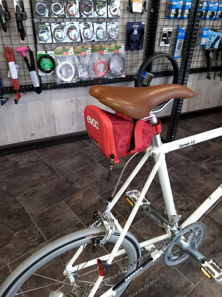 ちいさな自転車家 サドルバック