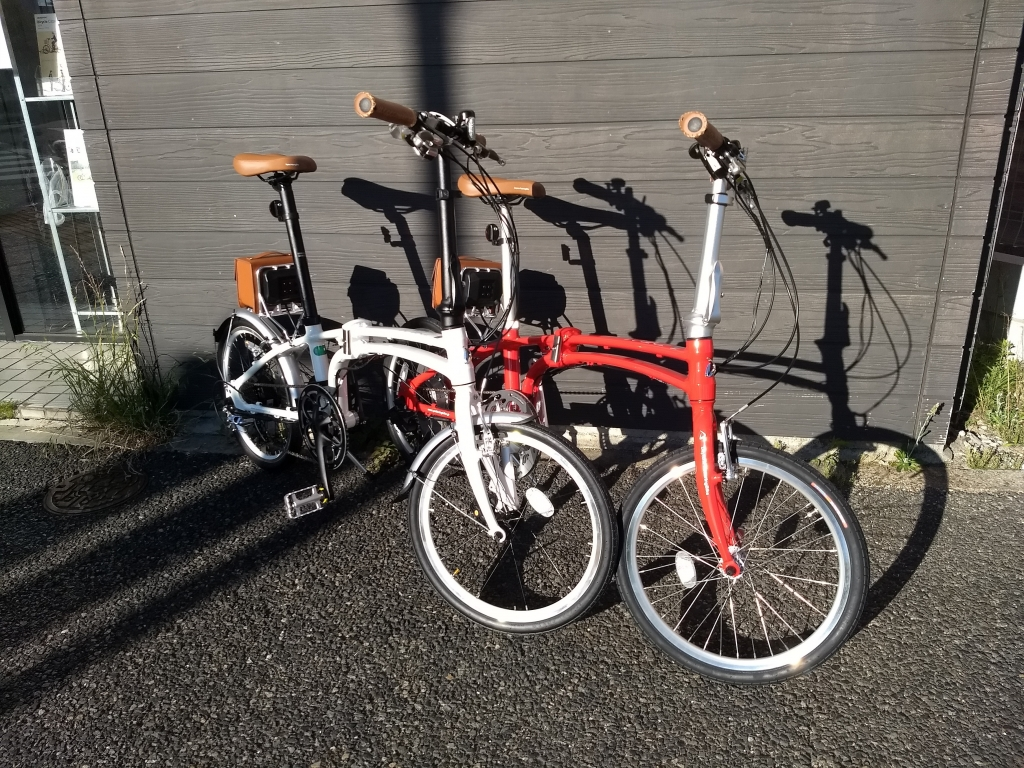 ちいさな自転車家 自転車  デイトナ