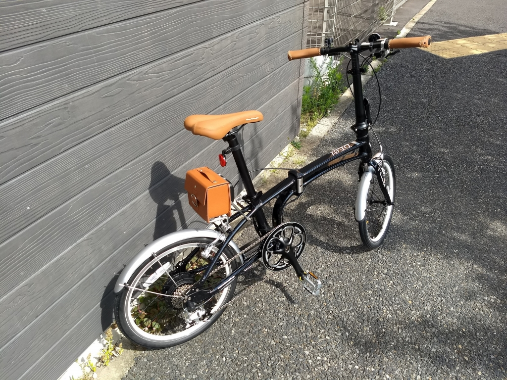 ちいさな自転車家 自転車  デイトナ DE01S