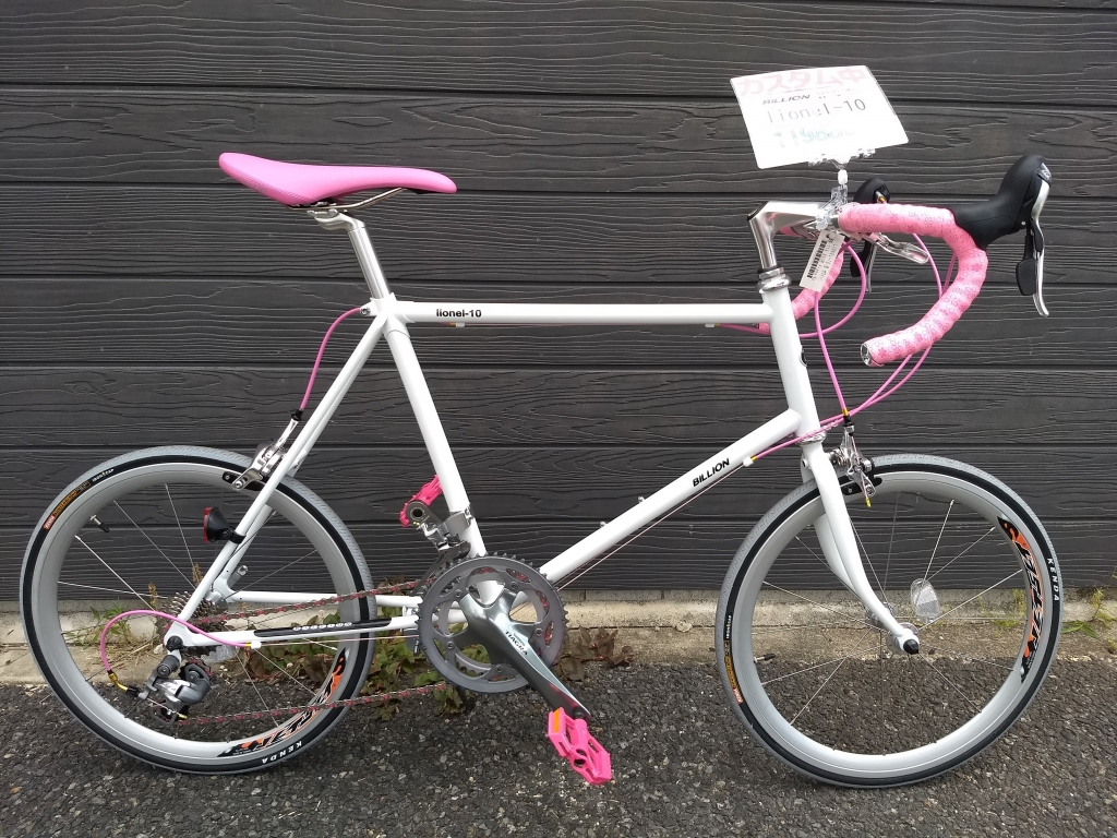 ちいさな自転車家 BILLION LIONEL10 カスタム