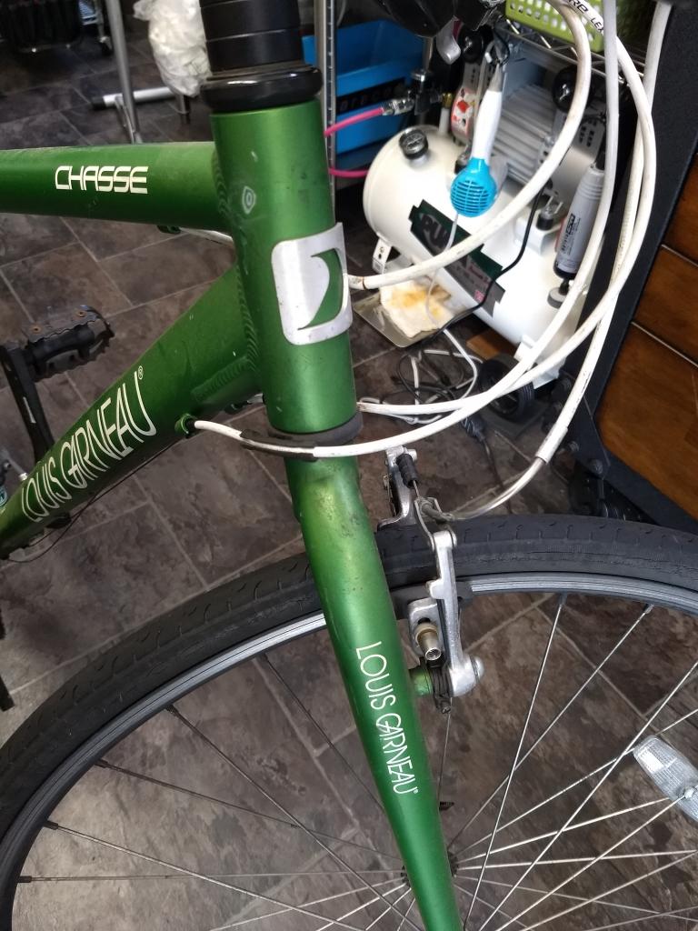 ちいさな自転車家 洗車