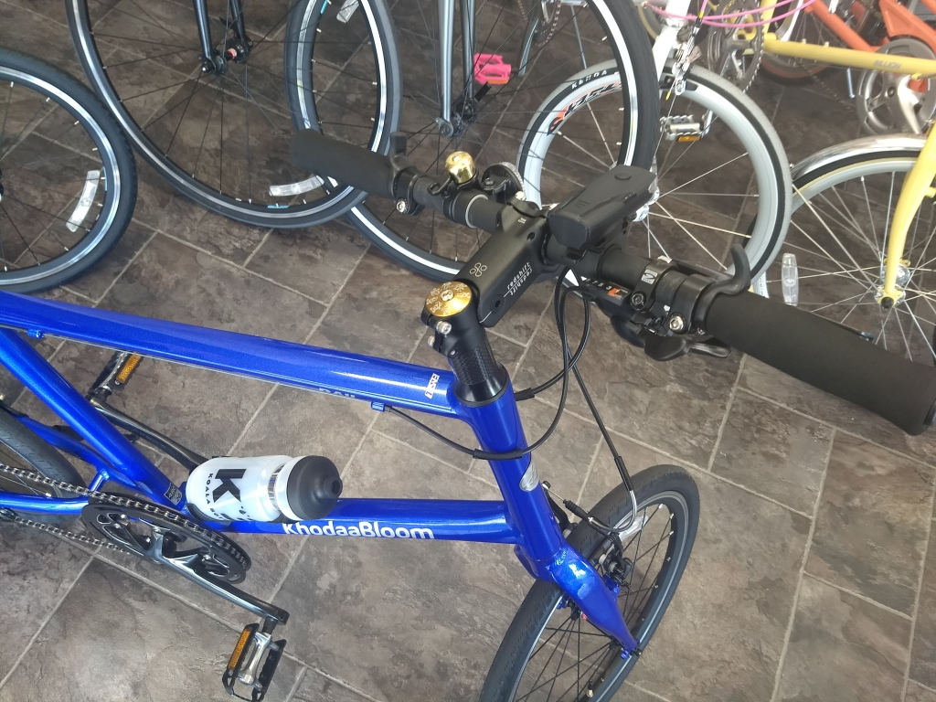 ちいさな自転車家 ステム ShockStop