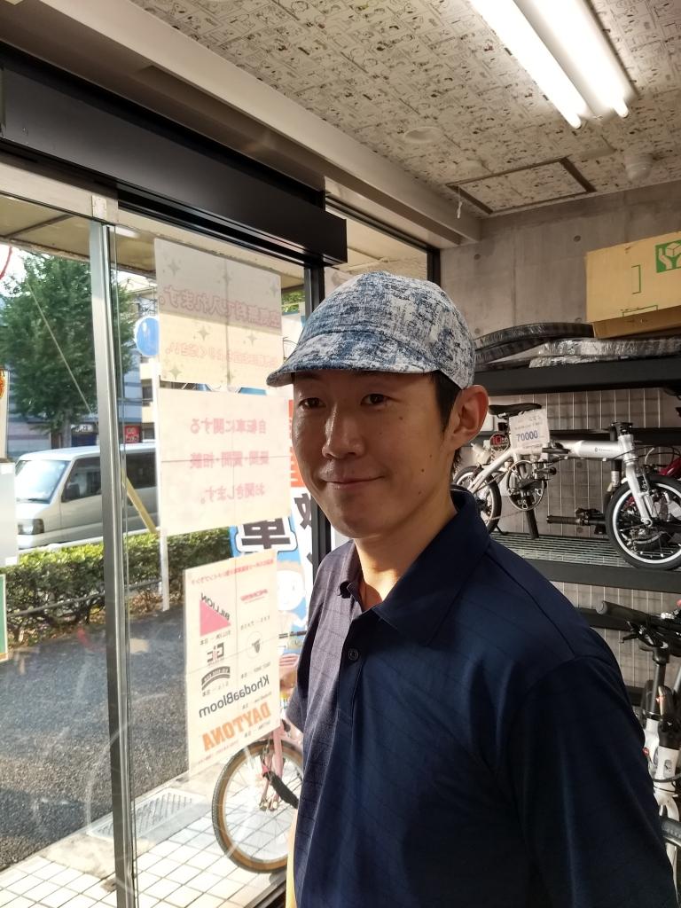 ちいさな自転車家 rinプロジェクト サイクルキャップ