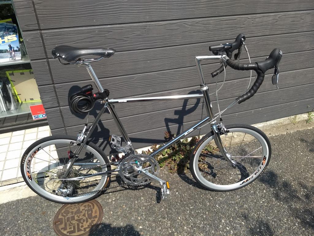 ちいさな自転車家 BILLION ミニベロ
