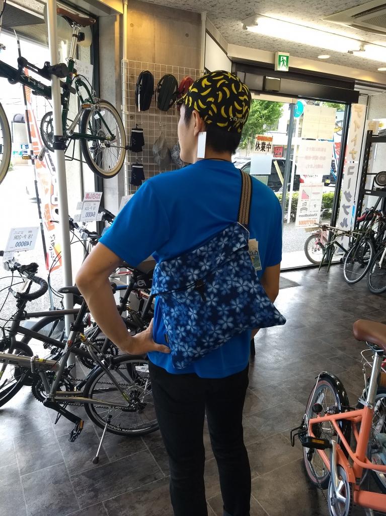 ちいさな自転車家 サコッシュ rinプロジェクト ミニベロ 小径車